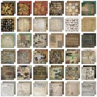 Tim Holtz - Idea-ology - Paper Stash - Collage 8x8
